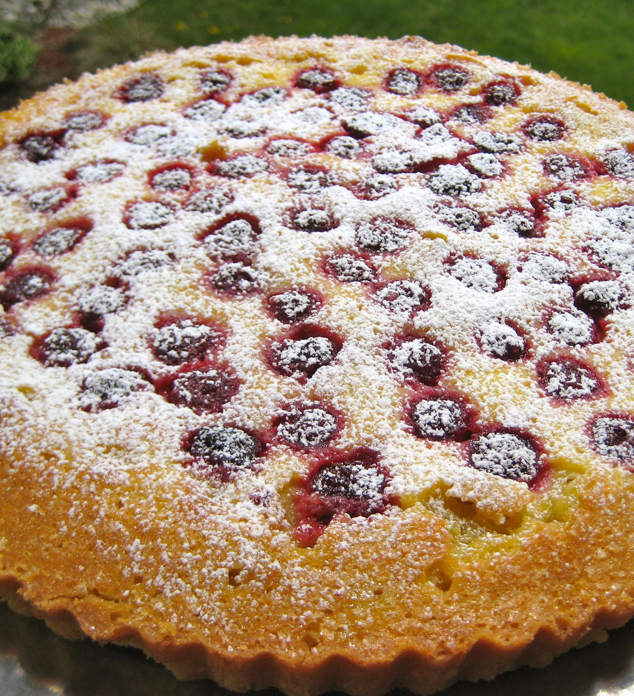 ... Sings Spring Raspberry-Crème Fraîche Tart – Urban Cottage Life