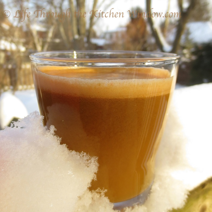 Ambrosia, Carrot & Celery Juice | © Life Through the Kitchen Window.com