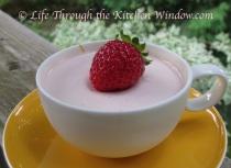 Strawberry Panna Cotta | © Life Through the Kitchen Window.com
