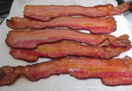 Oven-Roasted Bacon | © Life Through the Kitchen Window.com