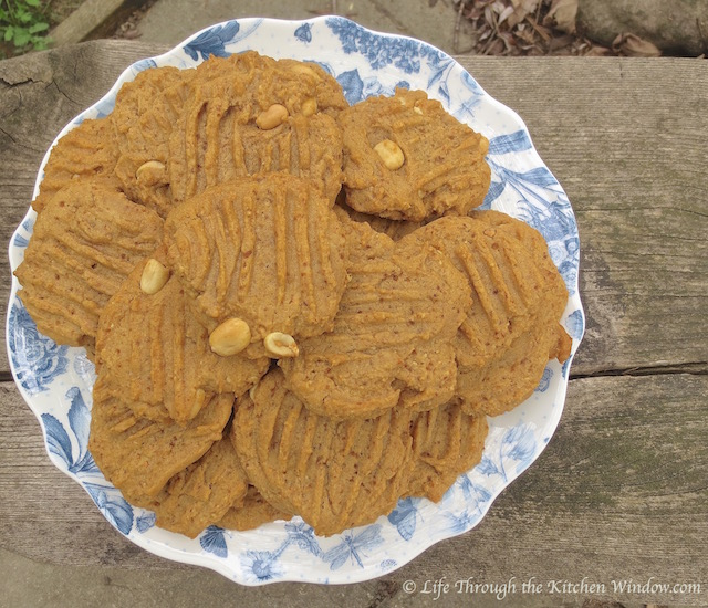Peanut Butter Cookies  © Life Through the Kitchen Window.com